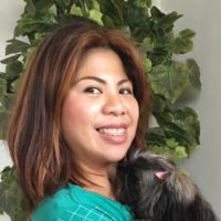 Lyn and my furbaby  - Pinay Romances Dating